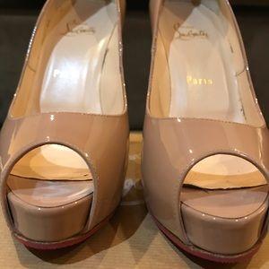 Christian Louboutin New Prive 120 Patent Heels